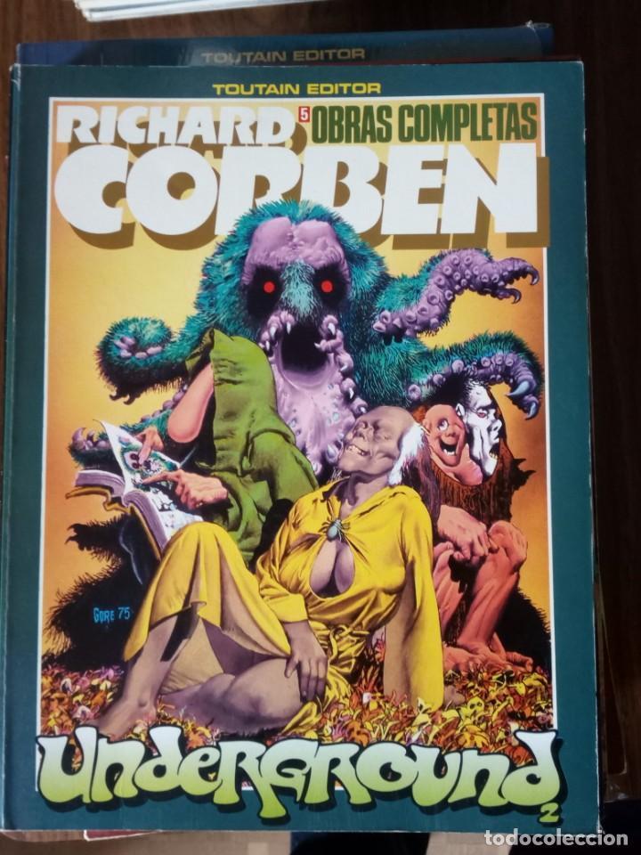 OBRAS COMPLETAS: RICHARD CORBEN NUM. 5 - UNDERGROUND 2 (Tebeos y Comics - Toutain - Obras Completas)