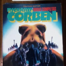 Cómics: OBRAS COMPLETAS: RICHARD CORBEN NUM. 3 - UNDERGROUND. Lote 256061655