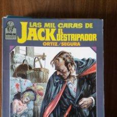Cómics: LAS MIL CARAS DE JACK EL DESTRIPADOR. JOYAS DE CREEPY - ORTIZ / SEGURA. Lote 256063565