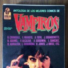 Cómics: ANTOLOGÍA DE LOS MEJORES COMICS DE VAMPIROS. JOYAS DEL CREEPY - VARIOS AUTORES. Lote 256064050