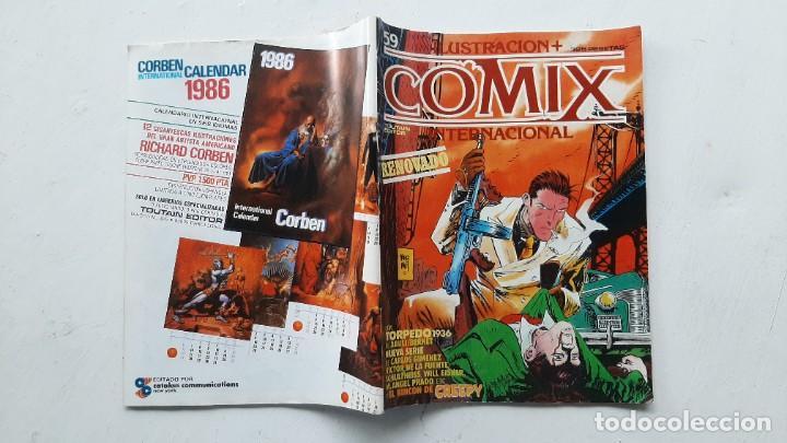 Cómics: Lote de dos números de la revista COMIX (nº 32 y 59) - Toutain - Primera época - Foto 2 - 257310865