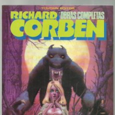 Fumetti: RICHARD CORBEN, OBRAS COMPLETAS 2: HOMBRE LOBO, 1984, TOUTAIN, MUY BUEN ESTADO. Lote 257628220