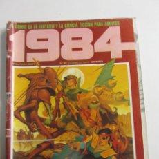 Cómics: 1984 Nº 61 TOUTAIN CORBEN 1980 E2. Lote 257705010