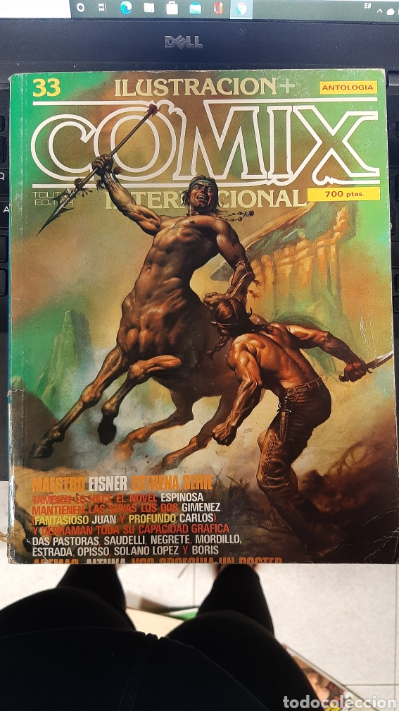 COMIX INTERNACIONAL 33 TOUTAIN EDITOR (Tebeos y Comics - Toutain - Comix Internacional)
