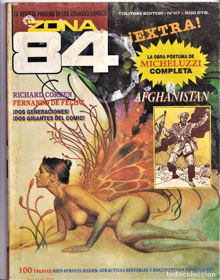 ZONA 84 - NUMERO 87 - TOUTAIN EDITOR (Tebeos y Comics - Toutain - Zona 84)