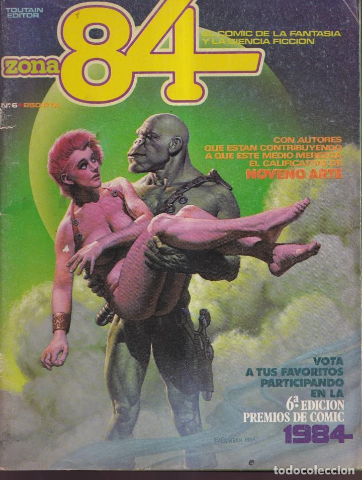 ZONA 84 - NÚMERO 6 - TOUTAIN EDITOR (Tebeos y Comics - Toutain - Zona 84)