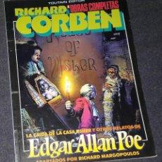 Fumetti: RICHARD CORBEN 4 OBRAS COMPLETAS LA CAIDA DE LA CASA USHER Y OTROS RELATOS DE EDGAR ALLAN POE TOUTAI. Lote 258189725