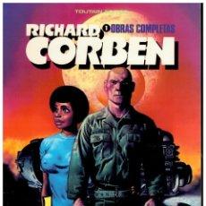 Cómics: RICHARD CORBEN. OBRAS MAESTRAS 1. JEREMY BROAD. TOUTAIN. EXCELENTE.. Lote 258309970