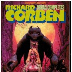 Fumetti: RICHARD CORBEN. OBRAS MAESTRAS 2. HOMBRE LOBO. TOUTAIN. EXCELENTE.. Lote 258310305