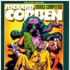 Cómics: RICHARD CORBEN. OBRAS MAESTRAS 5. UNDERGROUND 2. TOUTAIN. EXCELENTE.. Lote 258310665