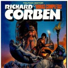 Fumetti: RICHARD CORBEN. OBRAS MAESTRAS 10. PILGOR. TOUTAIN. EXCELENTE.. Lote 258312000