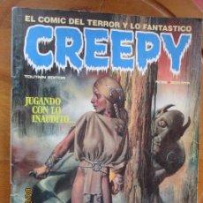 Cómics: CREEPY Nº 56. EL COMIC DEL TERROR Y LO FANTÁSTICO. BRUCE JONES, RICHARD CORBEN. TOUTAIN EDITOR 1984. Lote 258786930