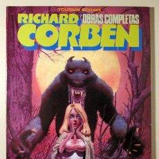 Cómics: CORBEN, RICHARD - EL HOMBRE LOBO. OBRAS COMPLETAS 2 - BARCELONA 1984 - ILUSTRADO - 1º EDICIÓN. Lote 260001330