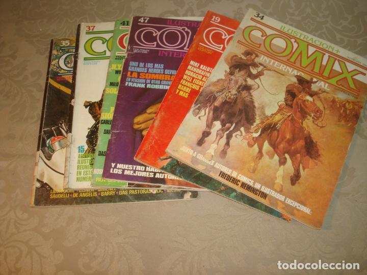 LOTE DE 6 COMIX INTERNACIONAL TOUTAIN EDITOR AÑOS 80 (Tebeos y Comics - Toutain - Comix Internacional)