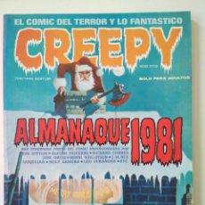 Cómics: CREEPY ALMANAQUE 1981. Lote 260357425