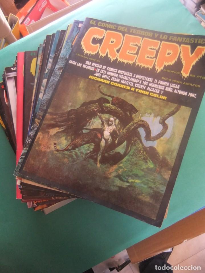 CREEPY LOTE DE 29 NUMEROS TOUTAIN EDITOR (Tebeos y Comics - Toutain - Creepy)