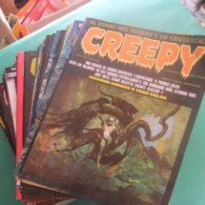 Cómics: CREEPY LOTE DE 29 NUMEROS TOUTAIN EDITOR. Lote 260811505