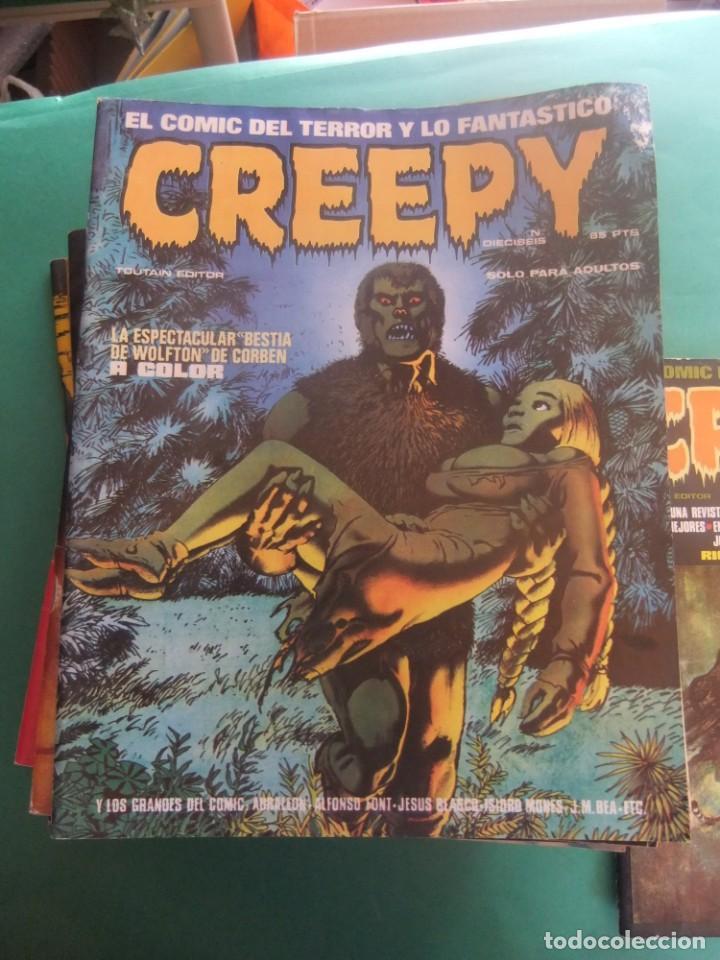 Cómics: CREEPY LOTE DE 29 NUMEROS TOUTAIN EDITOR - Foto 3 - 260811505