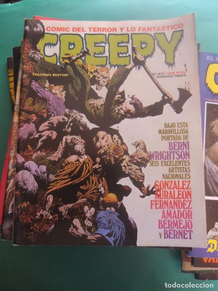 Cómics: CREEPY LOTE DE 29 NUMEROS TOUTAIN EDITOR - Foto 11 - 260811505