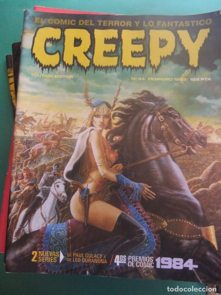 Cómics: CREEPY LOTE DE 29 NUMEROS TOUTAIN EDITOR - Foto 12 - 260811505