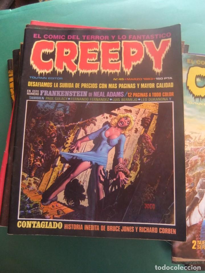 Cómics: CREEPY LOTE DE 29 NUMEROS TOUTAIN EDITOR - Foto 13 - 260811505