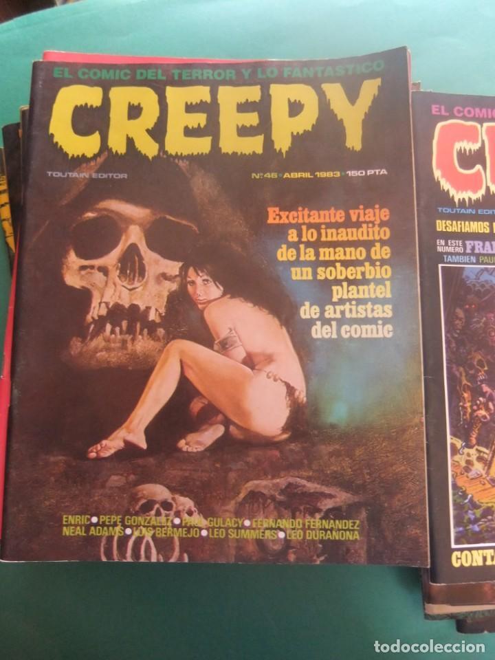 Cómics: CREEPY LOTE DE 29 NUMEROS TOUTAIN EDITOR - Foto 14 - 260811505