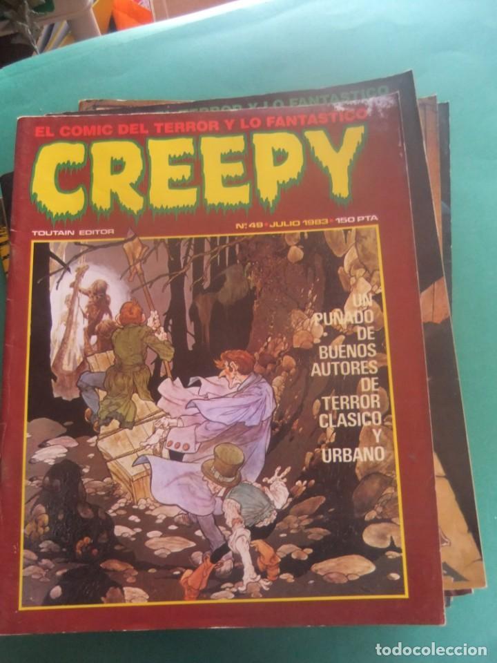 Cómics: CREEPY LOTE DE 29 NUMEROS TOUTAIN EDITOR - Foto 17 - 260811505