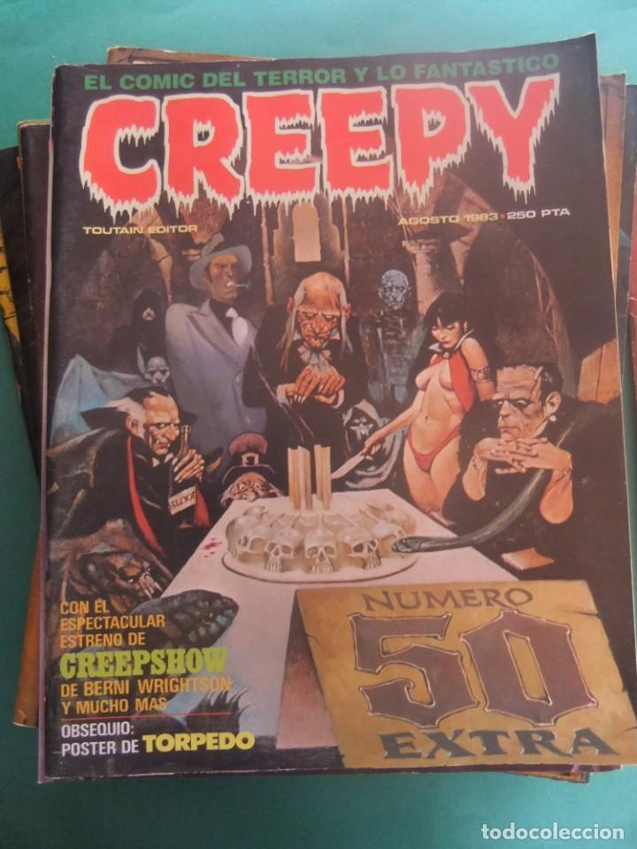 Cómics: CREEPY LOTE DE 29 NUMEROS TOUTAIN EDITOR - Foto 18 - 260811505