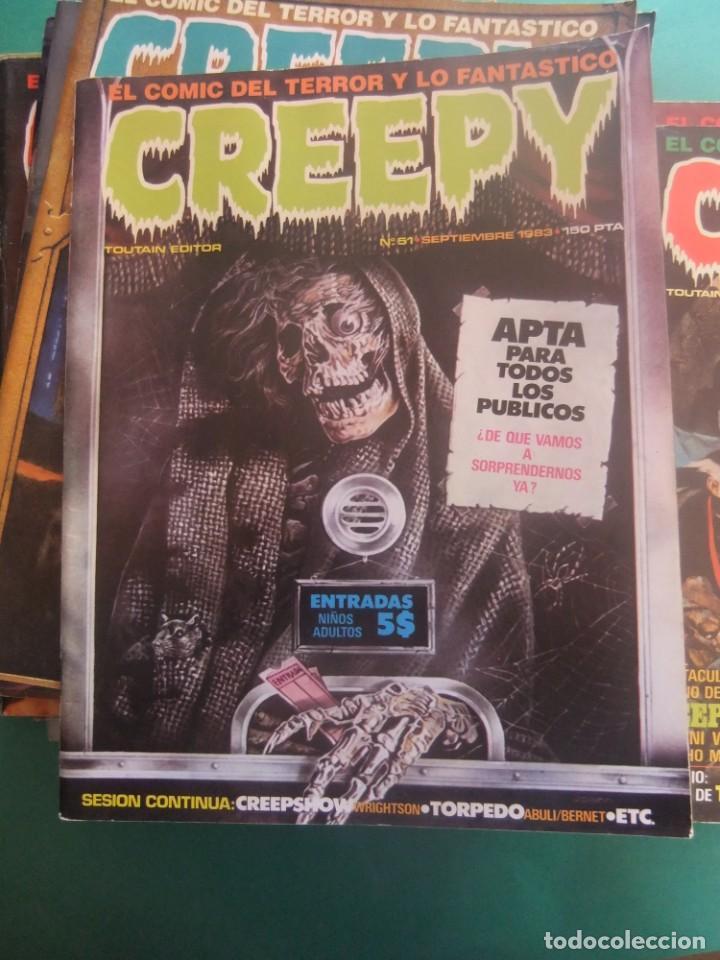 Cómics: CREEPY LOTE DE 29 NUMEROS TOUTAIN EDITOR - Foto 19 - 260811505
