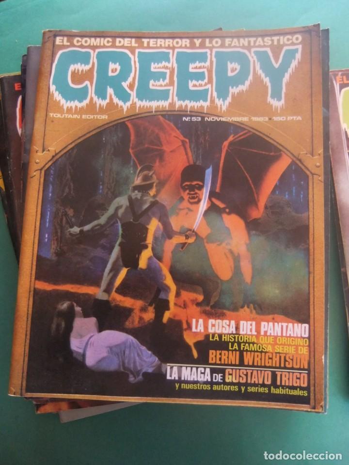 Cómics: CREEPY LOTE DE 29 NUMEROS TOUTAIN EDITOR - Foto 20 - 260811505