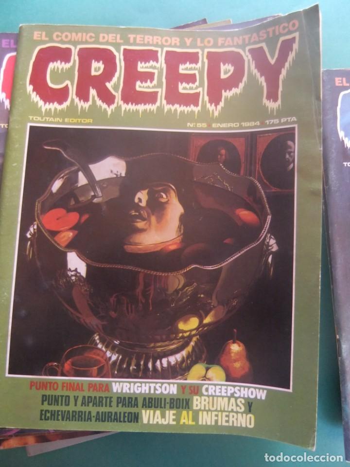 Cómics: CREEPY LOTE DE 29 NUMEROS TOUTAIN EDITOR - Foto 22 - 260811505