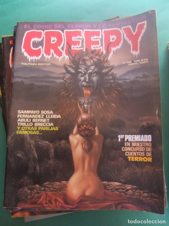 Cómics: CREEPY LOTE DE 29 NUMEROS TOUTAIN EDITOR - Foto 23 - 260811505