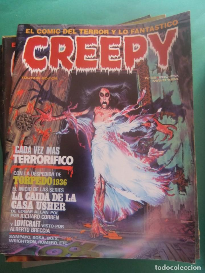 Cómics: CREEPY LOTE DE 29 NUMEROS TOUTAIN EDITOR - Foto 24 - 260811505