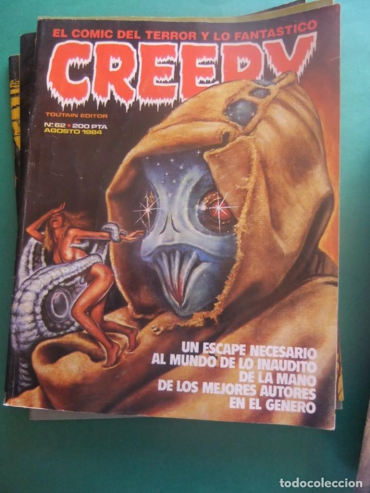 Cómics: CREEPY LOTE DE 29 NUMEROS TOUTAIN EDITOR - Foto 26 - 260811505