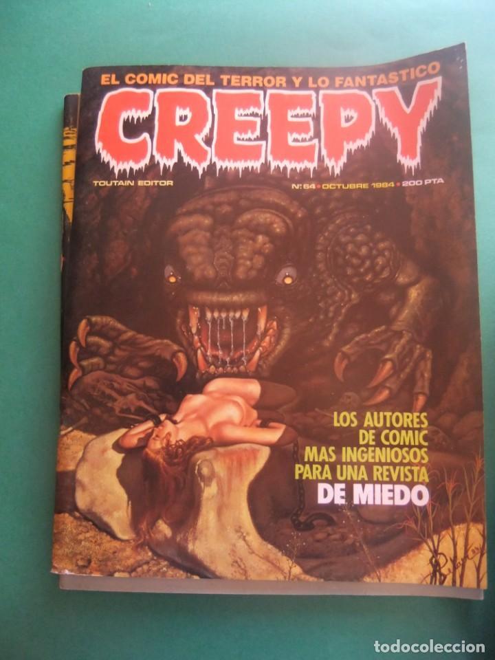 Cómics: CREEPY LOTE DE 29 NUMEROS TOUTAIN EDITOR - Foto 28 - 260811505