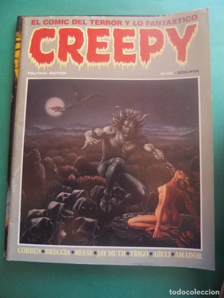 Cómics: CREEPY LOTE DE 29 NUMEROS TOUTAIN EDITOR - Foto 29 - 260811505