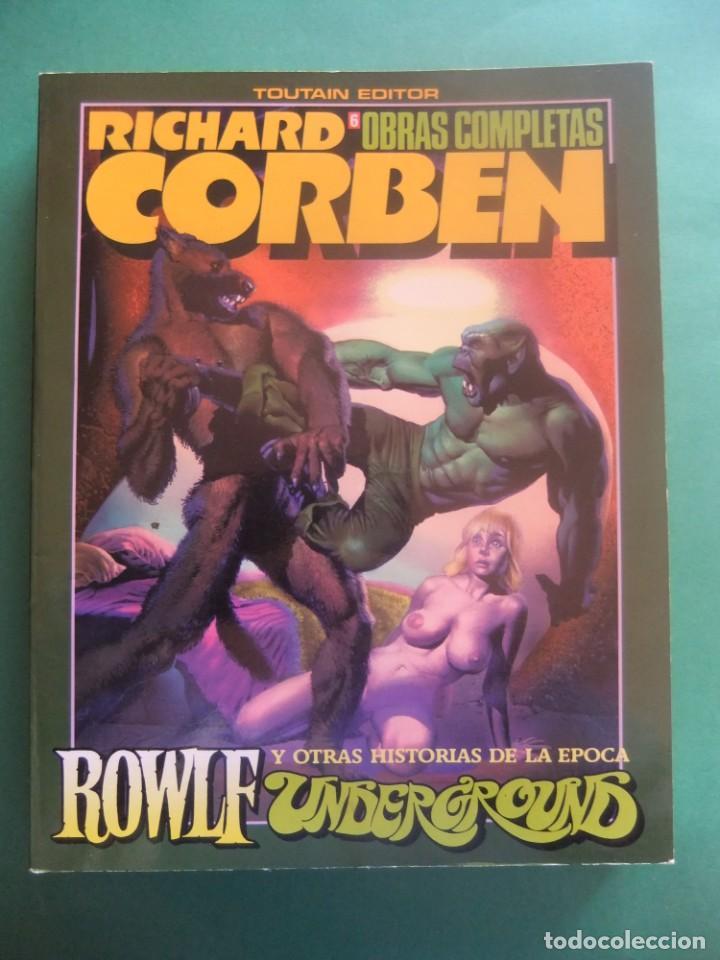 RICHARD CORBEN OBRAS COMPLETAS Nº 6 TOUTAIN EDITOR (Tebeos y Comics - Toutain - Obras Completas)