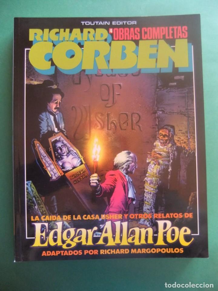 RICHARD CORBEN OBRAS COMPLETAS Nº 4 TOUTAIN EDITOR (Tebeos y Comics - Toutain - Obras Completas)
