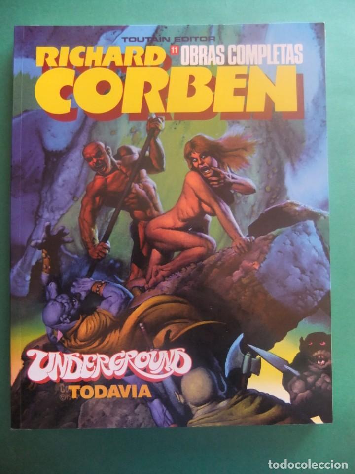 RICHARD CORBEN OBRAS COMPLETAS Nº11 TOUTAIN EDITOR (Tebeos y Comics - Toutain - Obras Completas)