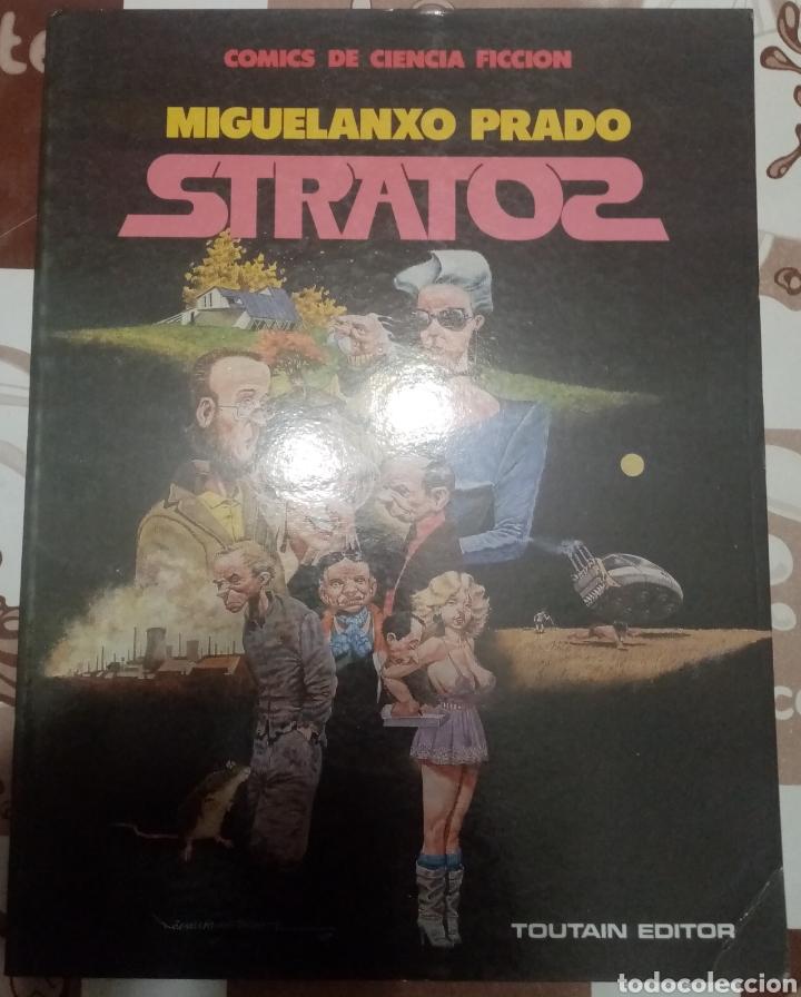 STRATOS: MIGUELANXO PRADO: TOUTAIN (Tebeos y Comics - Toutain - Álbumes)