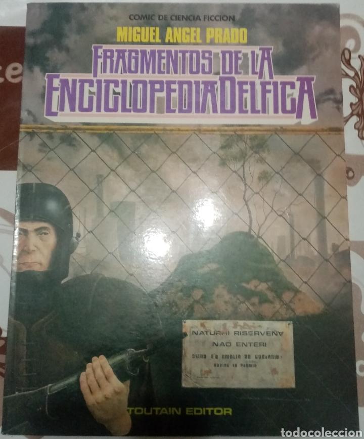 FRAGMENTOS DE LA ENCICLOPEDIA DELFICA: MIGUELANXO PRADO (Tebeos y Comics - Toutain - Álbumes)