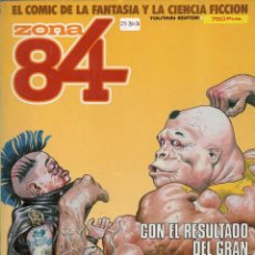 Cómics: ZONA 84 RETAPADO CON LOS NUMEROS 29 A 31 - TOUTAIN - BUEN ESTADO - OFM15. Lote 261230855