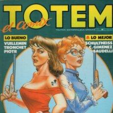 Cómics: TOTEM EL COMIX RETAPADO CON LOS NUMEROS 43 A 45 - TOUTAIN - BUEN ESTADO - OFM15. Lote 261235720