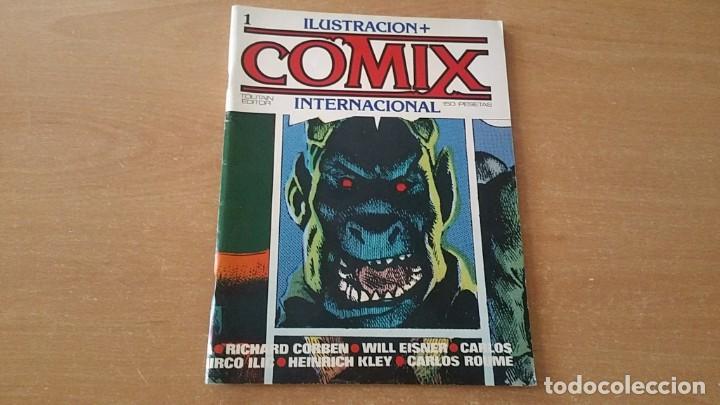 COMIX INTERNACIONAL 1 7 LOTE RESERVADO L******K (Tebeos y Comics - Toutain - Comix Internacional)