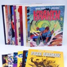 Comics : ÁLBUMS TOUTAIN. LOTE DE 17. VER LISTA (VVAA) TOUTAIN. OFRT. Lote 261655555
