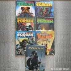 Cómics: CORBEN LOTE 7 COMICS NUEVOS RICHARD CORBEN. Lote 261915545