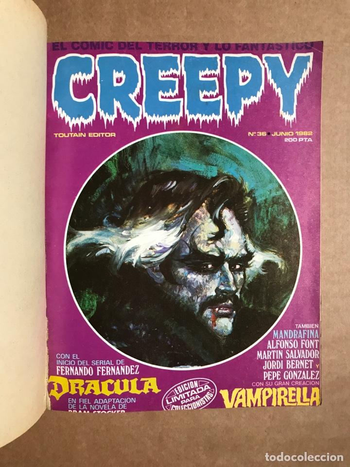 Cómics: Creepy Extra 8 - Retapado con el 36, 38, 39 y 40 - Foto 3 - 262040360