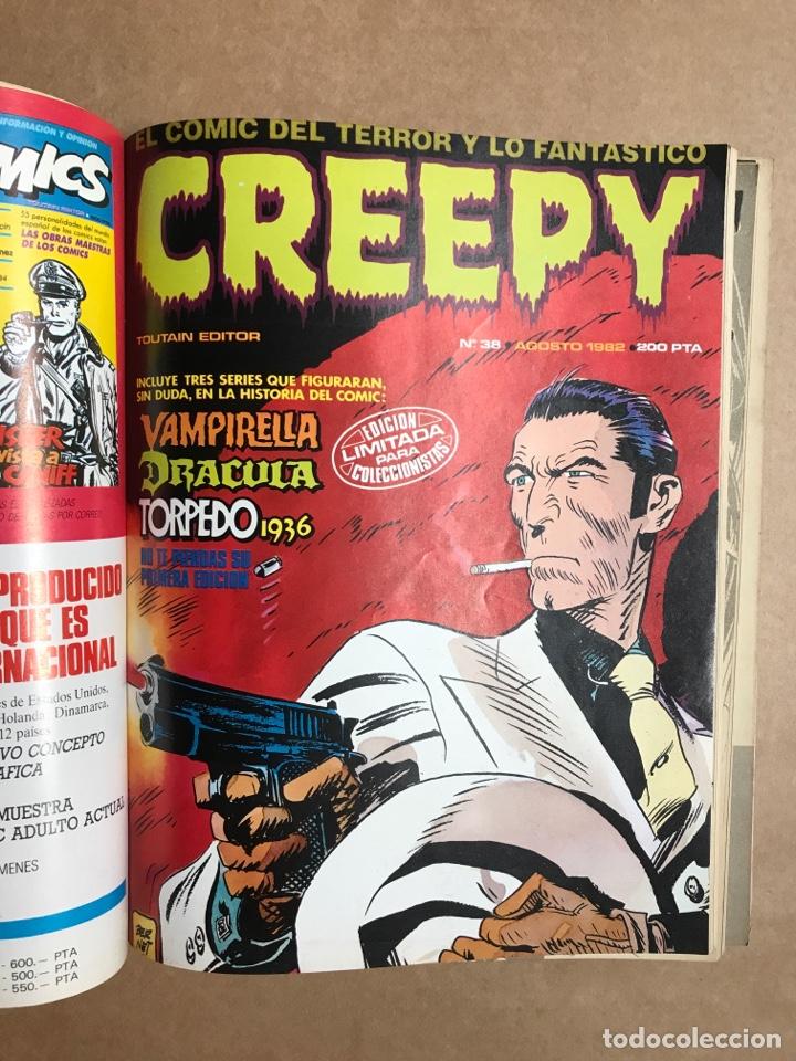 Cómics: Creepy Extra 8 - Retapado con el 36, 38, 39 y 40 - Foto 4 - 262040360