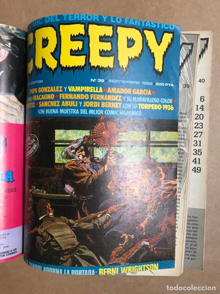 Cómics: Creepy Extra 8 - Retapado con el 36, 38, 39 y 40 - Foto 5 - 262040360