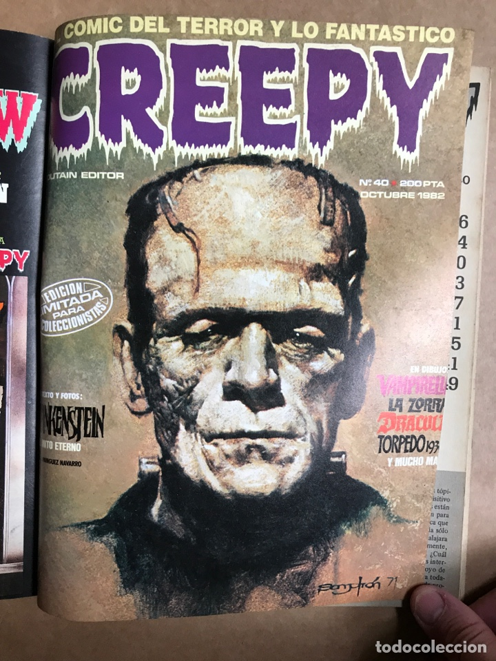 Cómics: Creepy Extra 8 - Retapado con el 36, 38, 39 y 40 - Foto 6 - 262040360